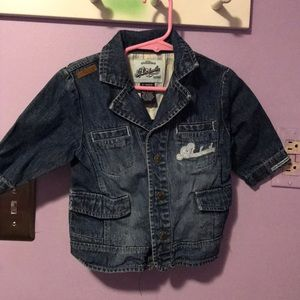 Other - 3/4 sleeve jean jacket 6-12m